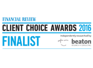 Financial Review Client Choice Awards Finalist 2016