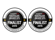 Accountants Daily Australian Accounting Awards 2015 Finalist 2015 |Professional Development Program of the Year and Graduate Program of the Year