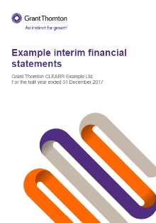 Example Financial Statements Grant Thornton Australia - Ifrs financial statements template