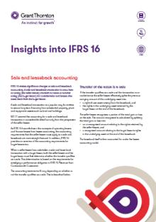 Insights into IFRS 16 | Grant Thornton Australia